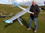 Dave Stone with his new scratch built Multiman