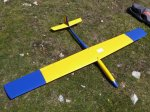 Bob Flook' refurbished glider