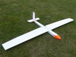 Steve Vincent's full-house glider constructed mainly from Correx
