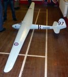 Pete Balcombe's scale model of the 1947 EON Olympia VV400
