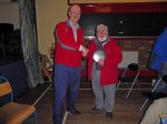 Clive Cheesley - winner of the club quiz night