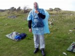 More poncho frolics - this time modelled by Keith
