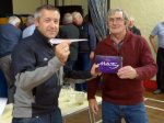 Dave McClean receiving 1st prize
