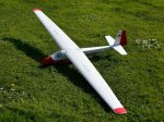 Clive Cheesley's K8 2.5 m sailplane