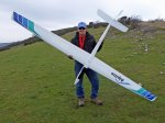 Clive Haynes with his new Pichler Alpine