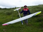 Clive Haynes with his TopmodelCZ Condor 3.6M