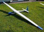 Terry Maynard's K18 1/4 scale, 4 m scratch built from plans